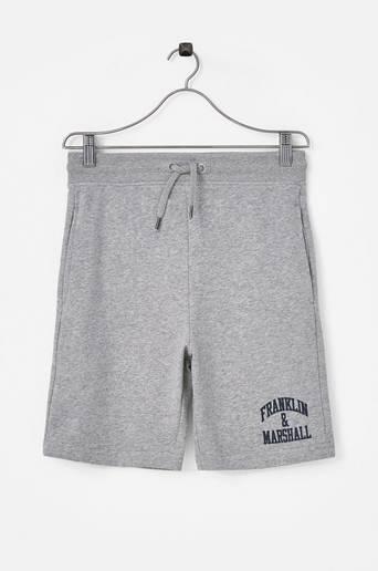 Badge Logo Sweat Shorts Navy