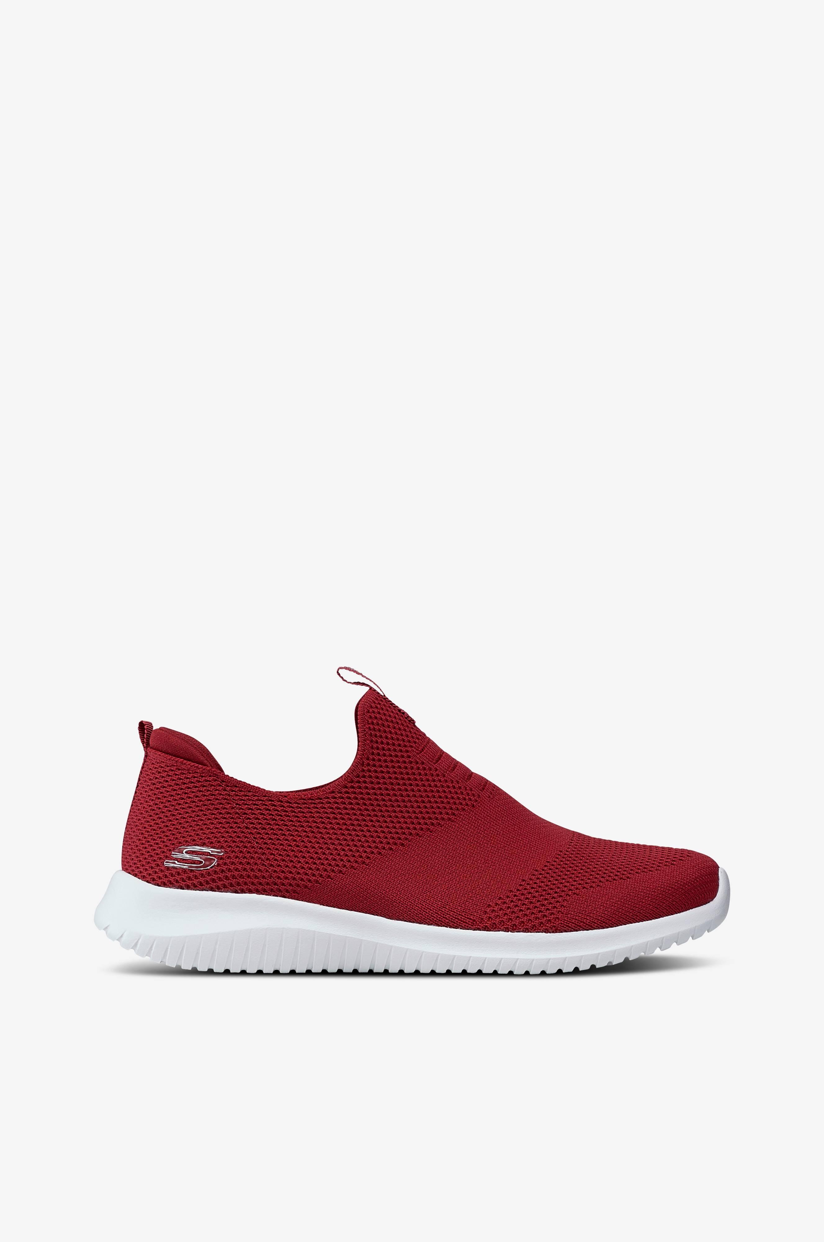 Skechers Sneakers Ultra Flex First Take Rød Dame Ellos.dk
