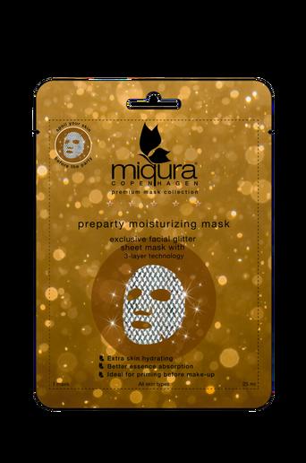 Pre-party Glitter Mask