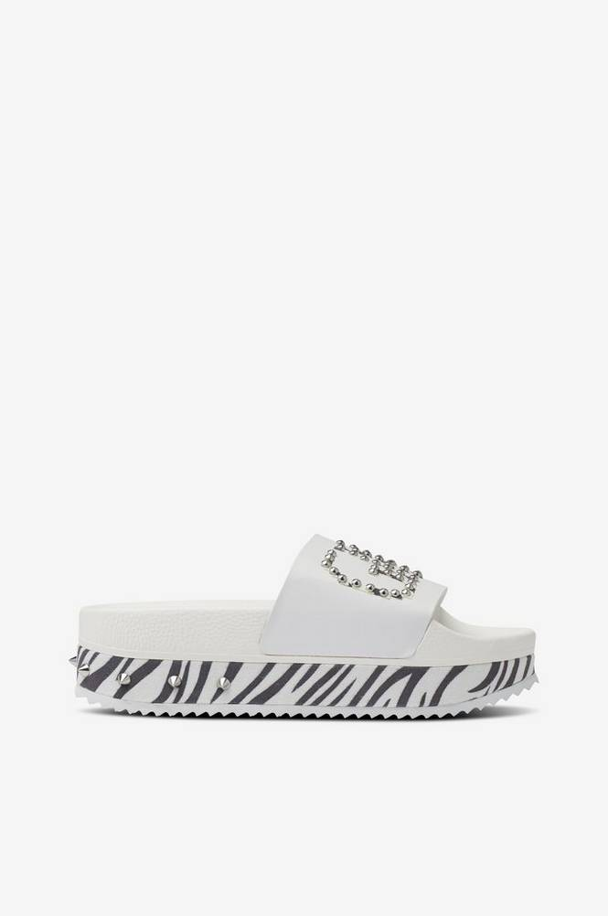 The white brand Sandal High Game Over