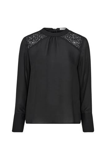 Repeat Lace Yoke Blouse paita