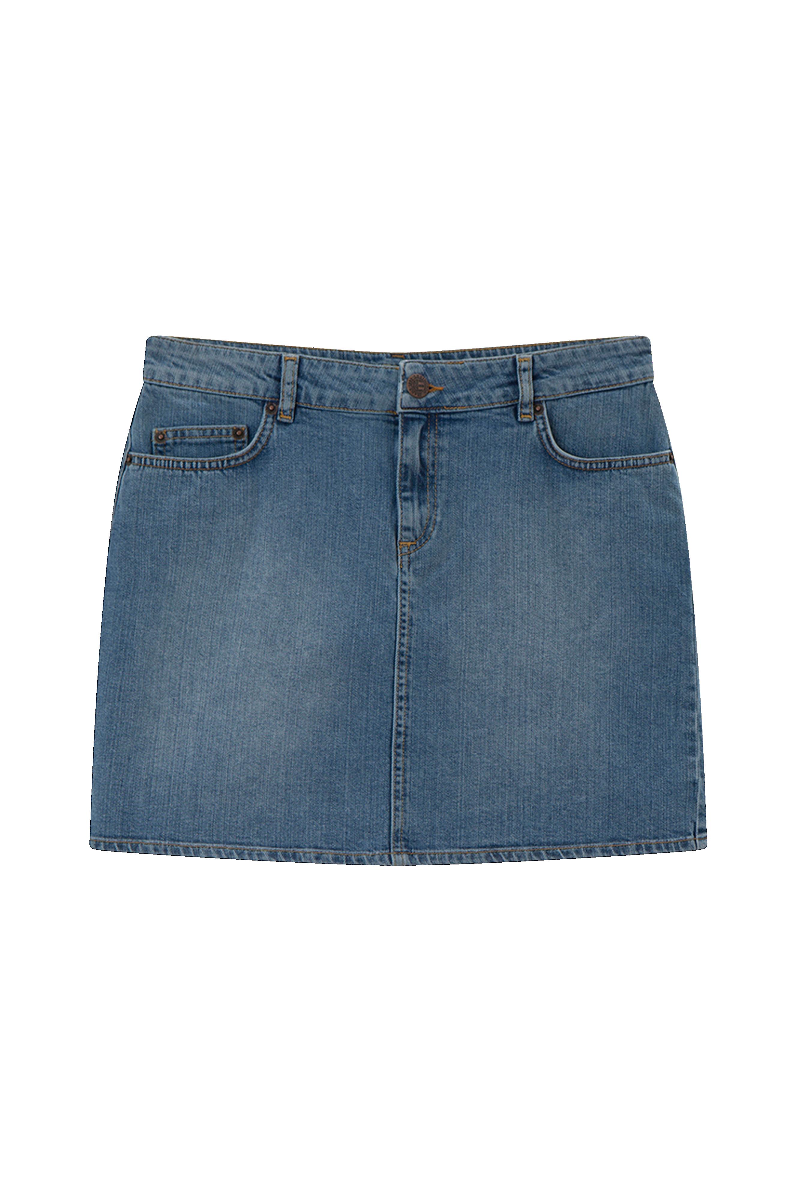 b5ed80e0 Lexington Jeansskjørt Alexa Blue Denim Skirt - Blå - Dame - Ellos.no