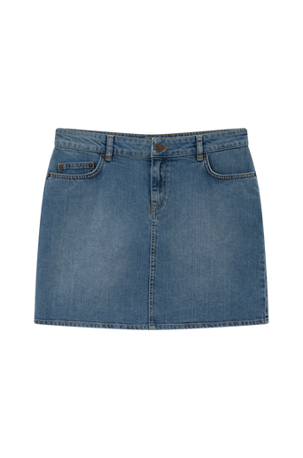 Alexa Blue Denim Skirt farkkuhame