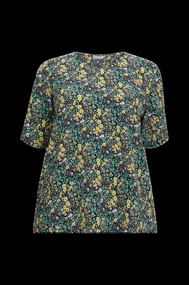Gozzip Bluse blomstret