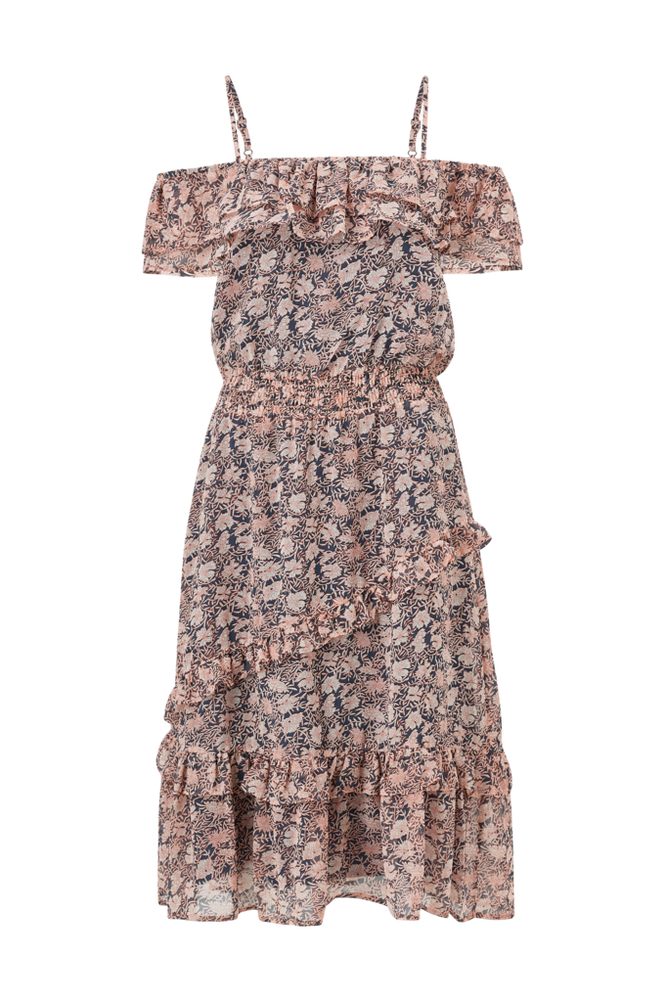 co'couture Flæsekjole Amber Frill Dress