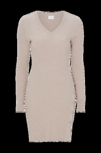 Mekko viSoldana Knit V-neck L/S Dress