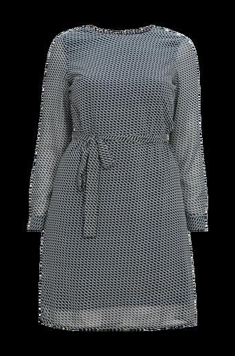 Mekko vmDisa L/S Short Dress Wvn Curve
