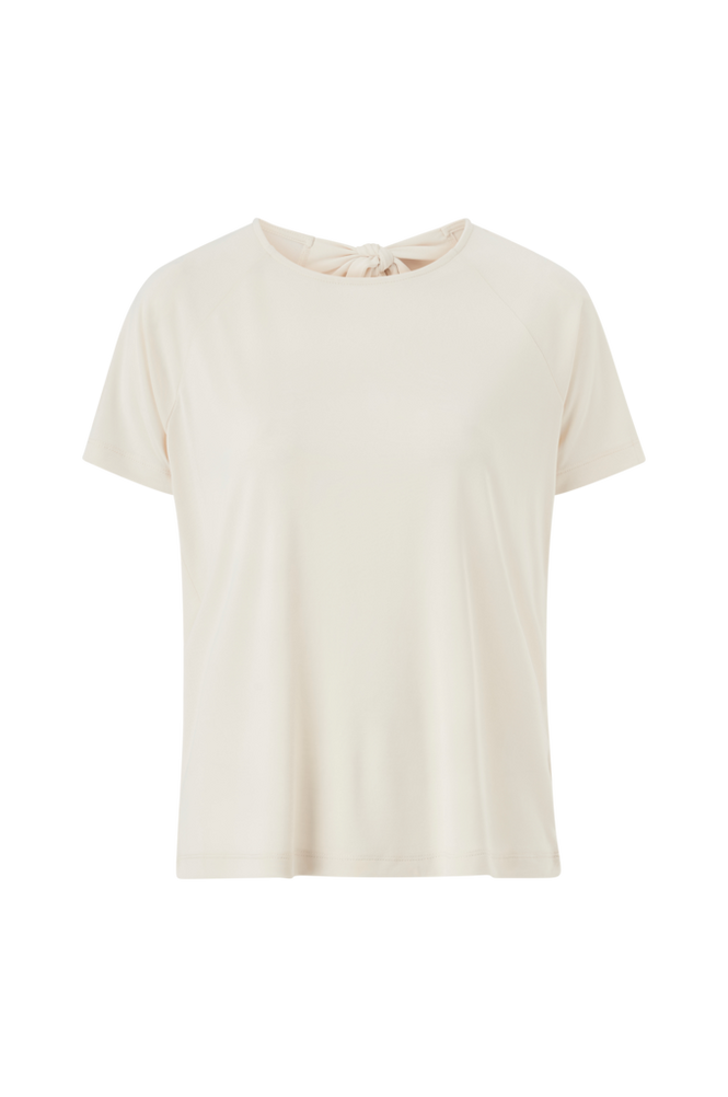 Soaked in Luxury Top Sepia Blouse SS