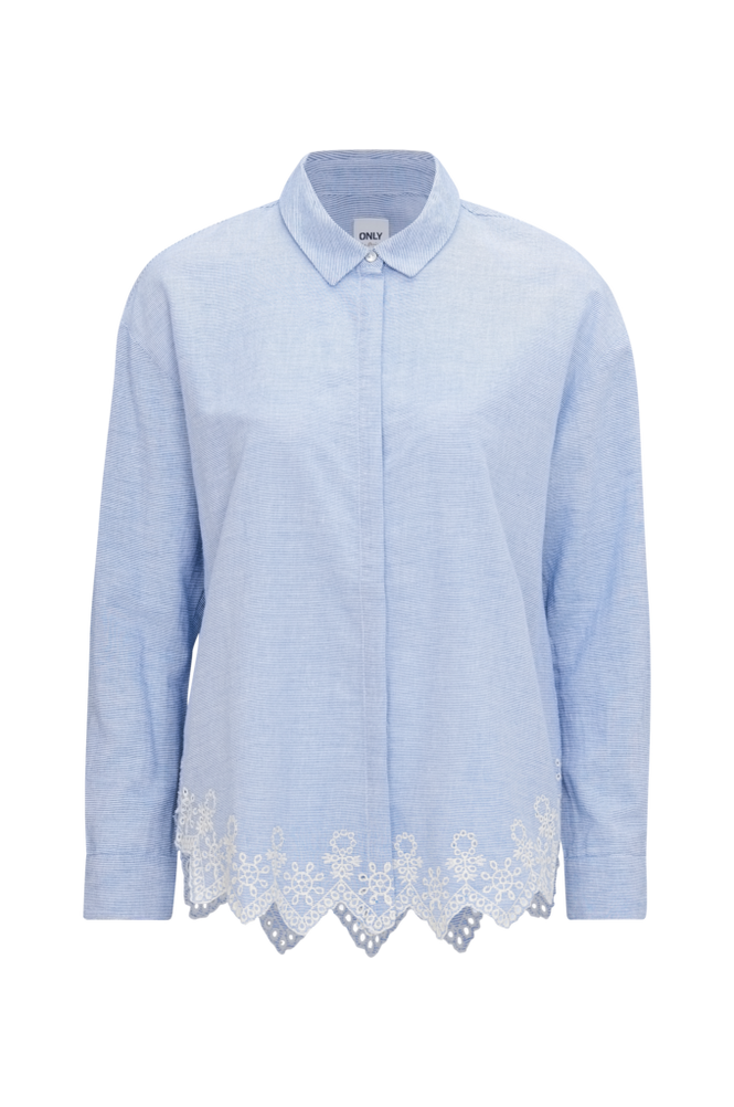 Only Skjorte onlTamara LS Anglaise Shirt