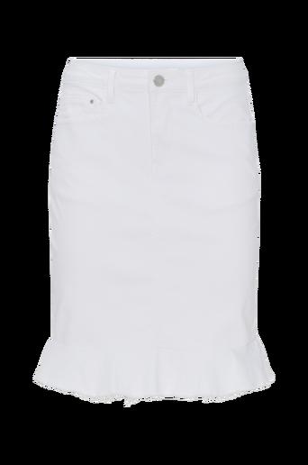 Farkkuhame viCommit Peplum Denim Skirt