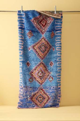 Boucherouite-matto 112x247 cm
