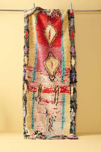 Boucherouite-matto 100x282 cm