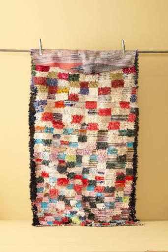 Boucherouite matto 123x230 cm