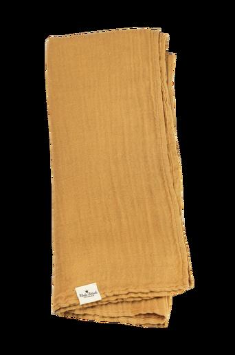 Bamboo Muslin Blanket Gold