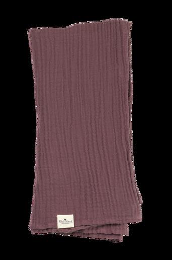 Bamboo Muslin Blanket Plum