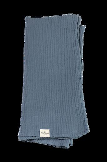 Bamboo Muslin Blanket Tender Blue