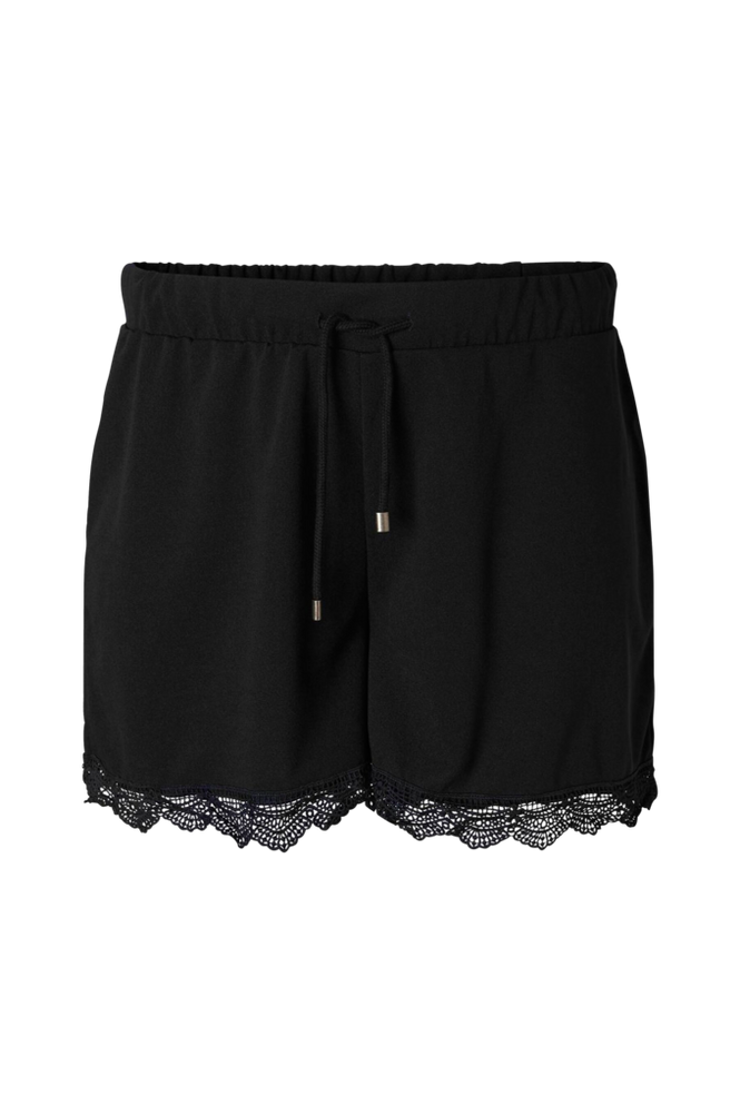 JUNAROSE by VERO MODA Short jrIberis med blondekant