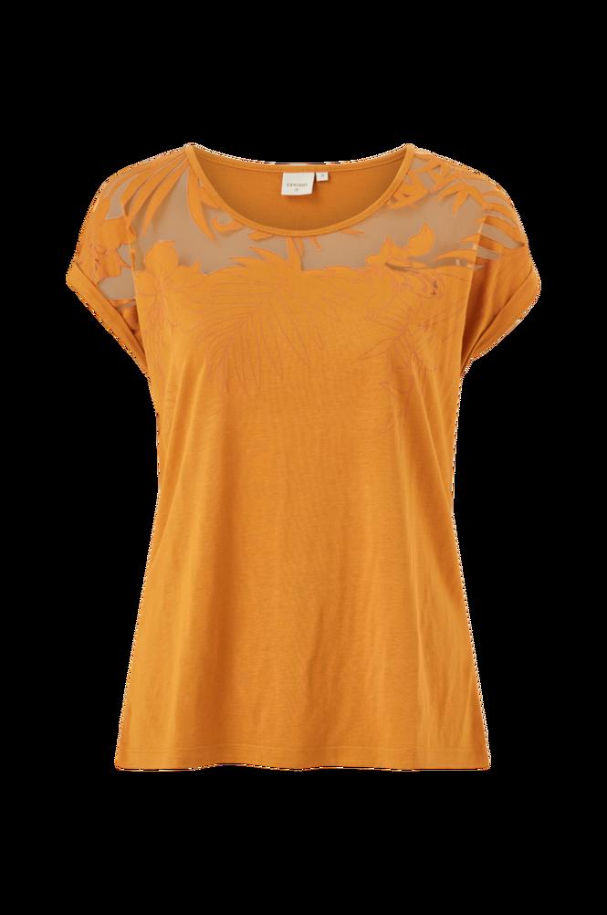 Cream Top Vanlie T-shirt