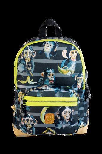 Backpack chimpanzee black