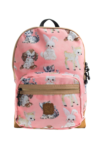Backpack cute animals pink