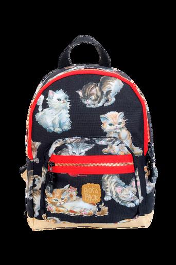 Backpack kittens black