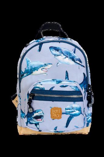 Backpack shark blue