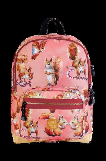 Backpack squirrel rose