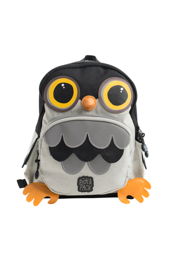 Owl backpack construction
