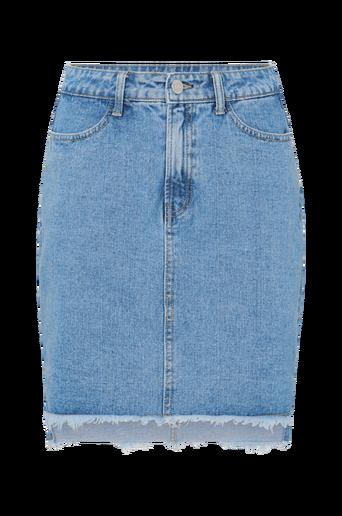 Farkkuhame viJules HW Slit Skirt