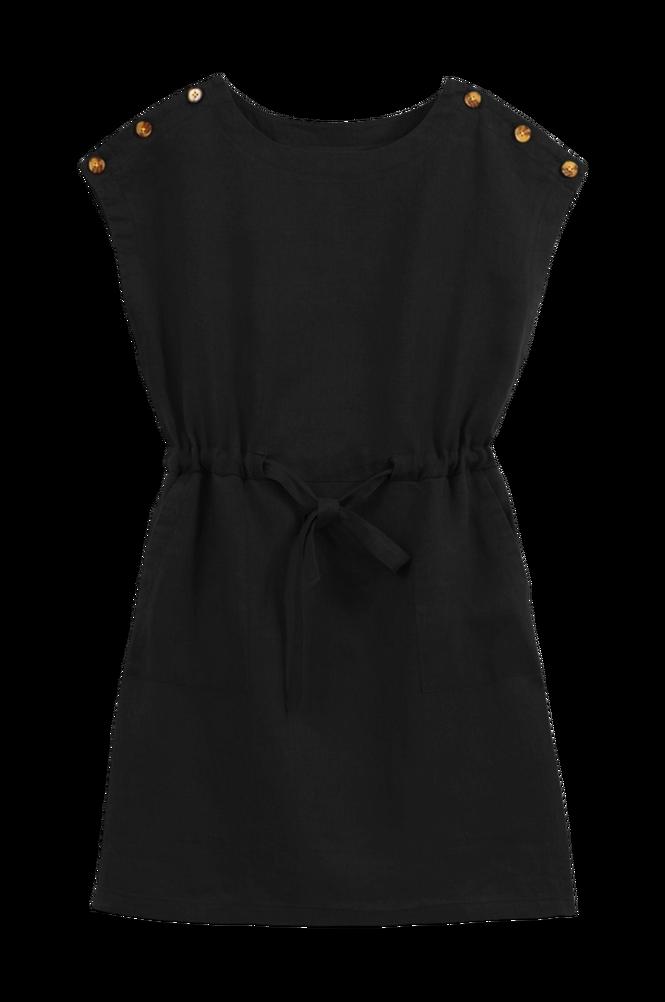 La Redoute Lige, ærmeløs kjole i hør
