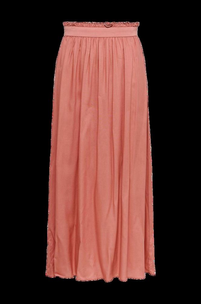Only Nederdel onlVenedig Paperbag Long Skirt Wvn