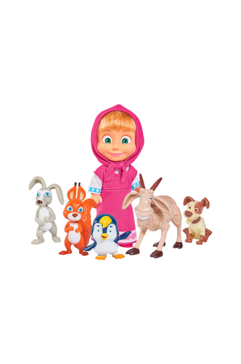 Masha and her Animal Friends