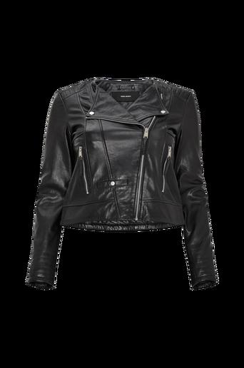 Biker-takki vmShila Short Leather Jacket Curve
