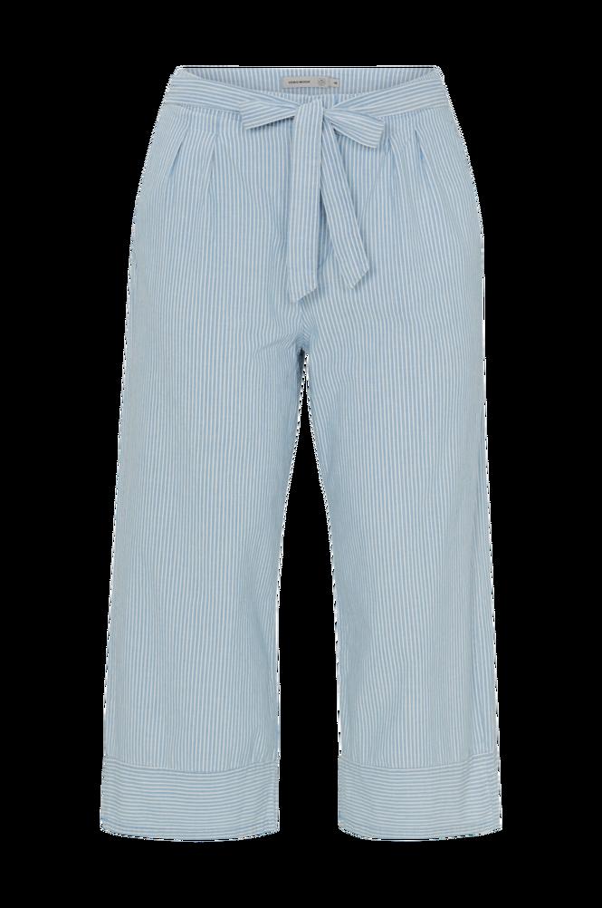 Vero Moda Curve Bukser vmMia Hr Loose Chambray 7/8 Pants