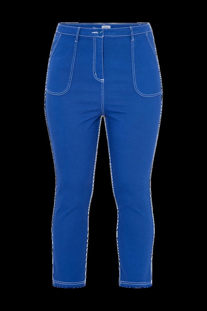 La Redoute Mom jeans med kontrastfarvede syninger