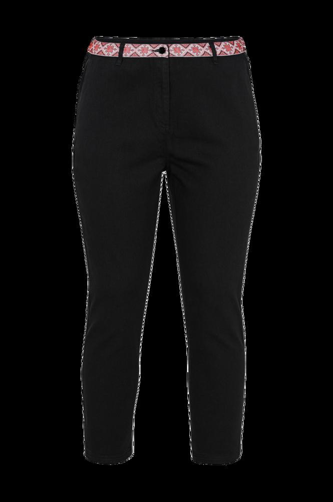 La Redoute Boyfit jeans med broderet linning
