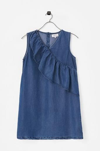 Farkkumekko konAja Frill Dress