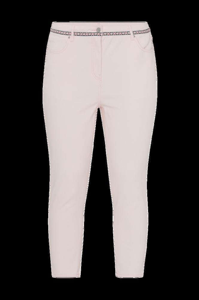 La Redoute Mom jeans med høj talje og dekorativ linning