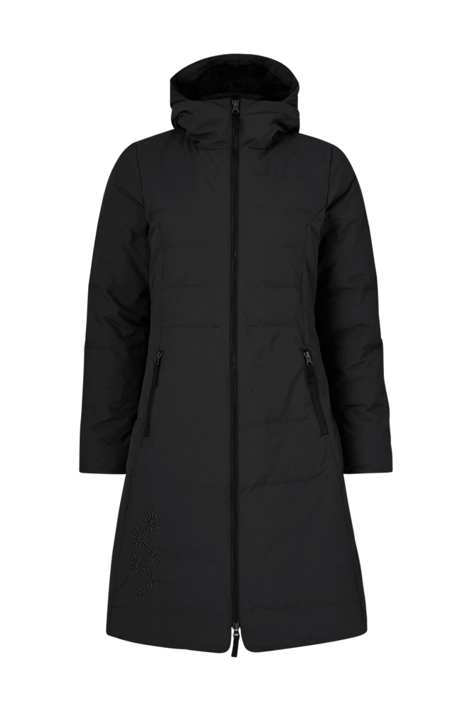 SKHOOP Dunfrakke Long Down Jacket
