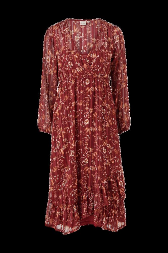 Cream Kjole Nila Wrap Dress
