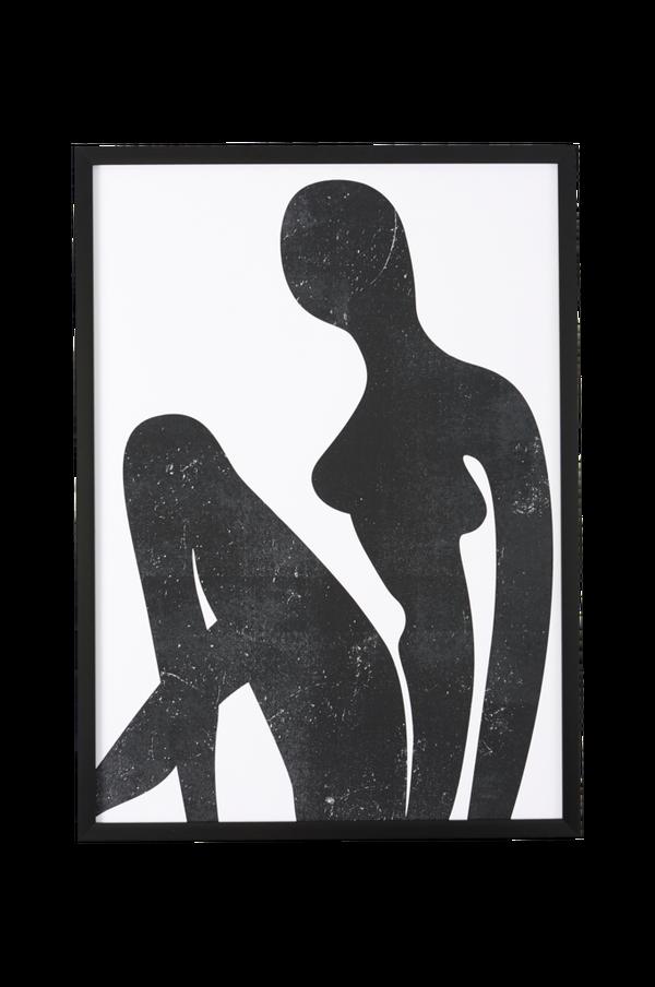 Bilde av Bilde Sitting silhouette lll - 30151