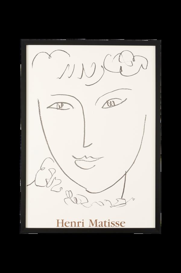 Bilde av Bilde Matisse Visage Esquisse - 30151