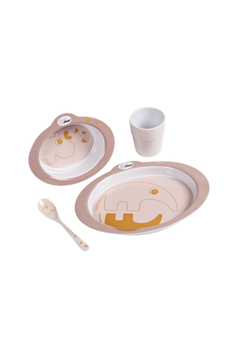Dinner set Contour Powder/Gold