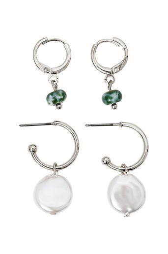 Korvakorut pcAlice Hoop Earrings, 2 paria/pakkaus D2D