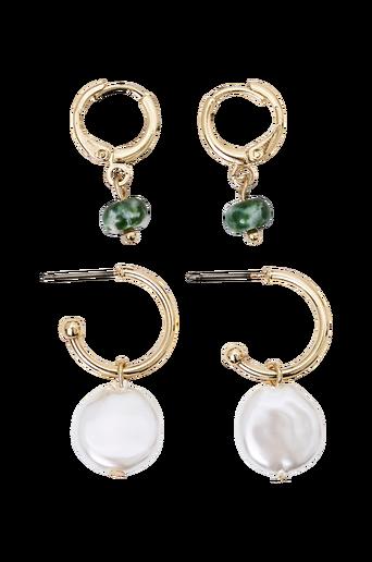Korvakorut pcAlice Hoop Earrings, 2 paria/pakkaus D2D