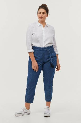 Housut yMerle Cropped Pant