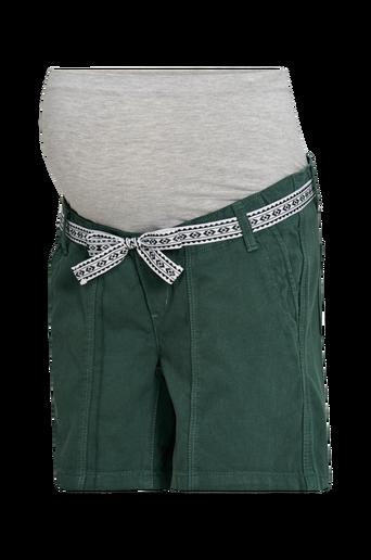 Äitiysshortsit mlCancun Belted Twill Shorts