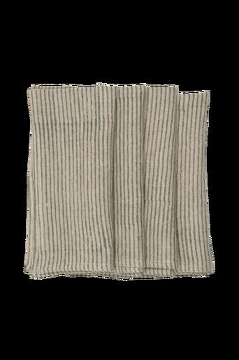 Pellavalautasliinat Stripe, 2/pakk.