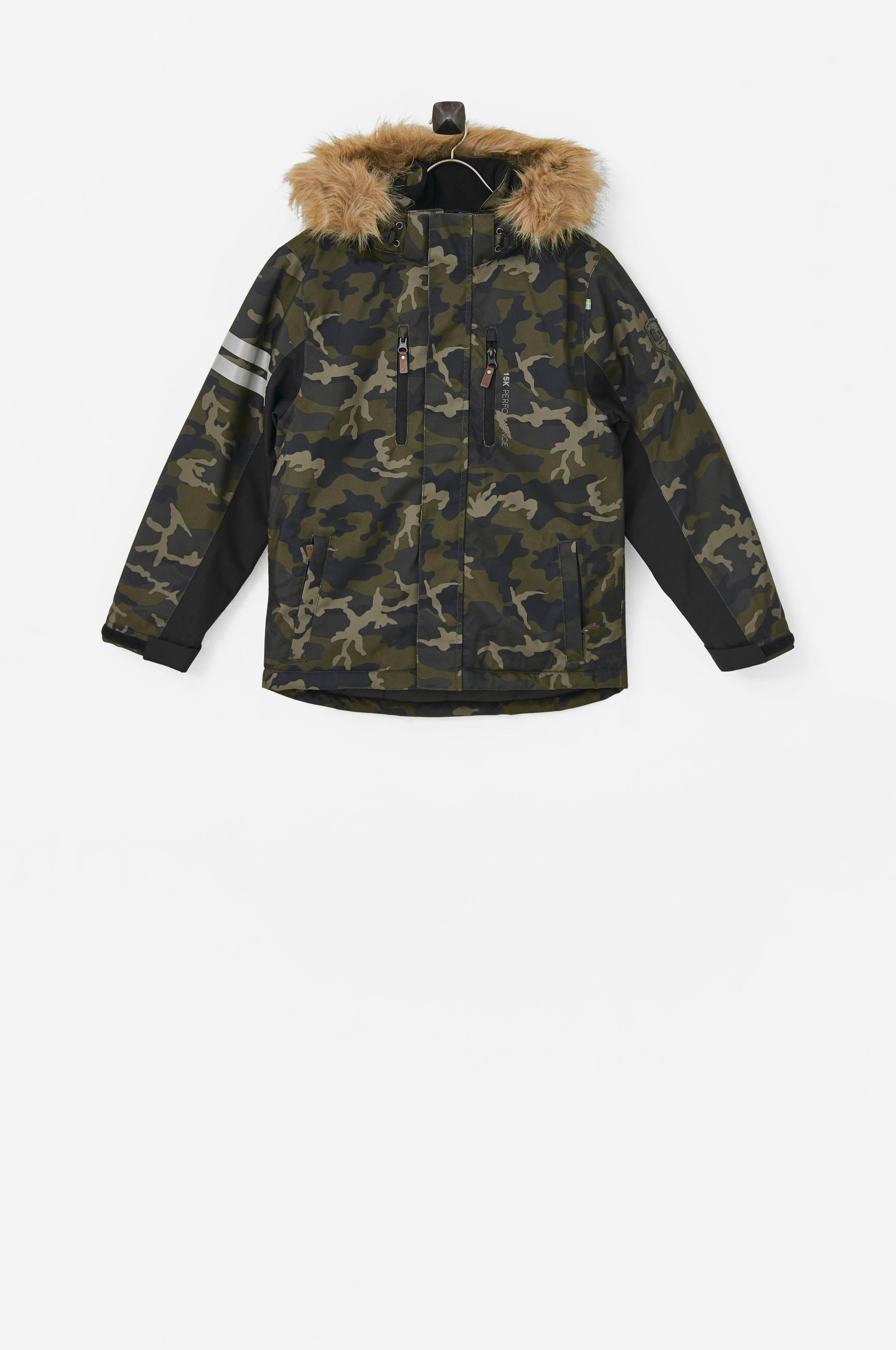 kamouflagekläder barn