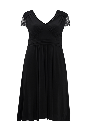Mekko Jersey Midi Lace Dress